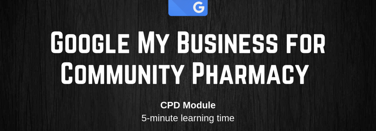 Google My Business for Community Pharmacy