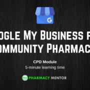 Google My Business for Community Pharmacy