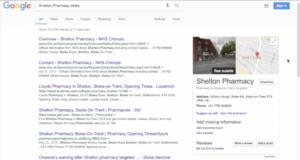Google My Business Shelton Pharmacy