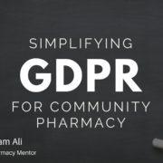 GDPR for Community Pharmacy