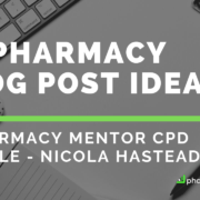 Pharmacy Blog Post Ideas