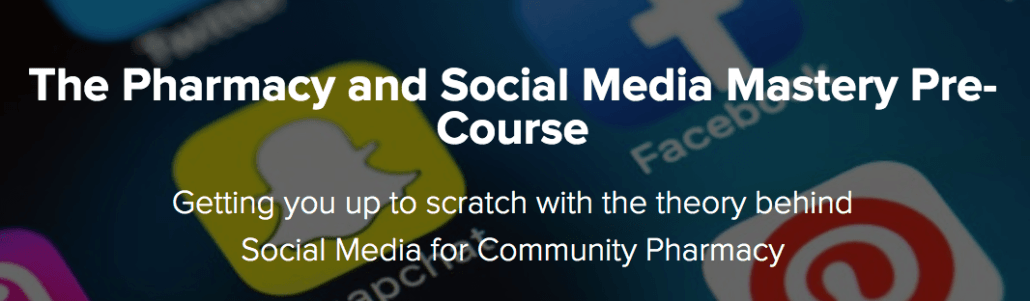 Social Media Pharmacy Free Online Course