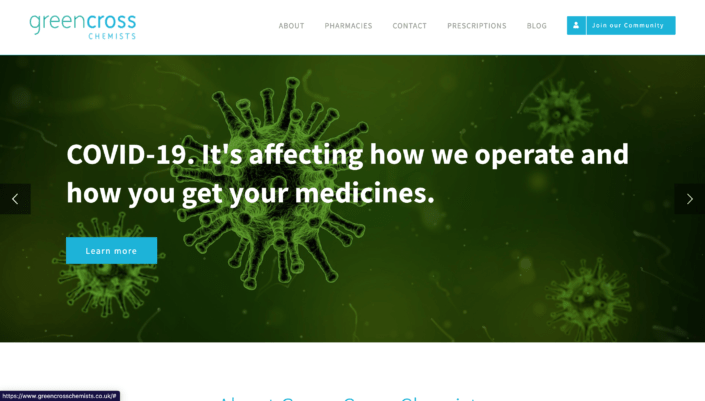 Pharmacy website company 4