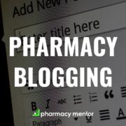 pharmacy blogging